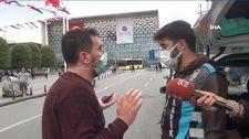 Taksim'de müşteri seçtiği için ceza yiyen taksicinin isyanı