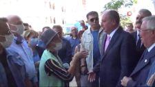 Aydın'da Memleket Parti Genel Başkanı İnce'ye tepki