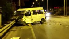 Aydın'da minibüs ile TIR ile çarpıştı