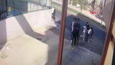 Diyarbakır'da liselilerin bıçaklı kavgası kamerada