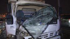 E-5'te, 5 araç kaza yaptı: 2 yaralı