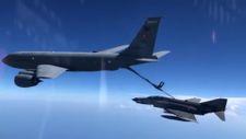 Hava Kuvvetleri Akdeniz bölgesinde eğitim görevi icra etti