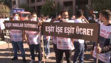 İzmir'de metro çalışanları toplu iş sözleşmesi nedeniyle greve başladı