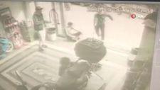 Kağıthane'de kendisine küfür eden şahsın dükkanını basıp saldırdı