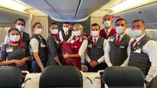 Türk Hava Yolları'nın Şikago'ya giden uçağında, Faslı yolcu doğum yaptı