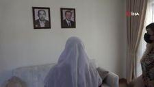 Babasını Cumhurbaşkanı Erdoğan'a benzeten kadına duygulandıran sürpriz
