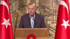 Cumhurbaşkanı Erdoğan, Uluslararası Demokratlar Birliği heyetiyle görüştü