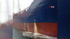 İzmit Körfezi'ni kirleten gemi cezasız kalmadı