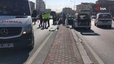 Konya'da eşini kazada kaybeden kadının feryadı yürek burktu