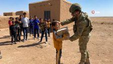 Mehmetçikten Suriye'de yardım eli