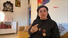 Süryani rahibe, 36 yıl sonra Mardin'deki köyüne döndü