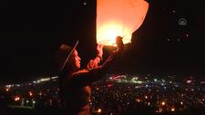 ABD'de Dilek Balonu Festivali düzenlendi