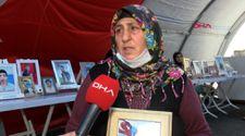 Diyarbakır'da evlat nöbeti tutan anne: Sesimi duyuyorsan, korkma gel