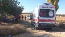 Karaman'da elma bahçesinin işçileri bıçak ve sopalarla kavga etti