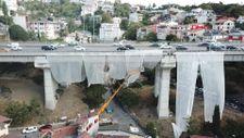 15 Temmuz Şehitler Köprüsü'nde çalışma