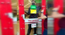 Bursa'da kaşar peyniri çalan hırsız markete kilitlendi