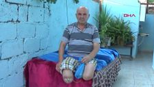 Gaziantep'te, ayakları kesilen adamın akülü sandalye çağrısı