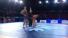 Taha Akgül, Dünya Güreş Şampiyonası'nda üçüncü oldu
