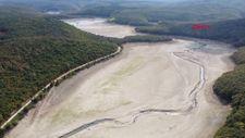 Trakya'da, İstanbul'un su ihtiyacını karşılayan barajlar kurudu