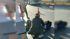 Antalya'da yaya geçidindeki kadına otomobil çarptı