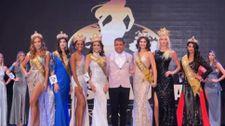 Antalya'daki güzellik yarışmasını Faith Garcia kazandı
