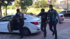 Ataşehir'de polisle pazarlık yapan değnekçiler yakalandı