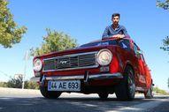 Malatyalı genç, 1974 model Murat 124 için 60 bin TL harcadı