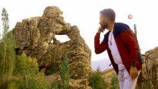 Yüksekova'da 'Düşünen Maymun' figürlü kayalık bulundu