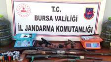 Bursa'da 9 kilo kubar esrar ele geçirildi