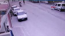 Iğdır'da sosyolog Mustafa Sefa'nın vurulma anı