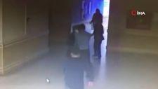 Kocaeli'de hastanedeki güvenlik görevlisini bayıltana kadar darbetti