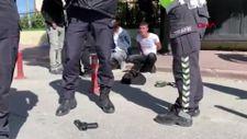 Konya'da avukat adliye bahçesindeki otomobilinde silahlı saldırıya uğradı