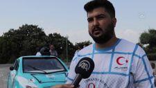 Osmaniye'de üniversitelilerin geliştirdiği elektrikli otomobil 'Börü'