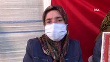 Diyarbakır'da evlat nöbetindeki anne: Oğlum yüzde 70 raporlu