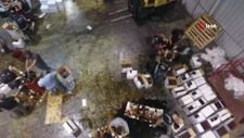 İskenderun'da, nar ekşisi yüklü konteynerden 1 milyon 200 bin uyuşturucu hap çıktı