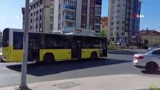 Pendik'te alışıldık manzara: İETT otobüsü yine arızalandı