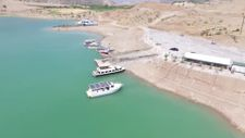 Takoran Vadisi'nde turistler için tekne turları artırıldı