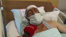Tunceli'de ayı saldırısına uğrayan köylü, yaralı haliyle 5 kilometre yürüdü