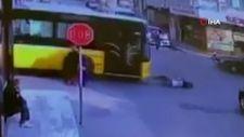 Ataşehir'de İETT eğitim aracı, küçük çocuğa çarptı