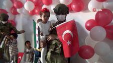 Mehmetçik Barış Pınarı Harekatının sembol ismi Suriyeli Pınar'ı unutmadı