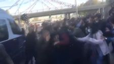 Ankara Garı'ndaki anma törenine gölge düşürdüler