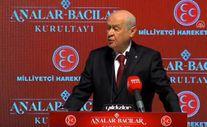 Devlet Bahçeli: ABD terör örgütleriyle mi müttefik, yoksa Türkiye ile mi