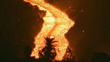 İspanya'daki Cumbre Vieja yanardağı'nda yeni bir lav nehri oluştu
