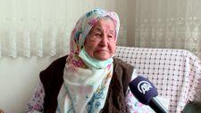 Trabzon'da 106 yaşında koronavirüsü yenen Nuriye Nine'den aşı çağrısı