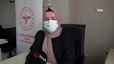Samsun'da tıbbı sekreter 2 bin kişiyi aşı olmaya ikna etti