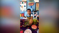 Şanlıurfa'daki Anaokulunda 'Delalım Türküsü' eşliğinde zeytin ezmece etkinliği