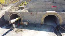 Sivas'ta Geminbeli Tüneli'nde ışığa son 250 metre