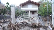 Yunanistan'ın Eğriboz Adası'nı sel vurdu
