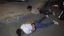 Aksaray'da polis 'Direnme yat' dedi yatmadı, yatırıldı kalkmadı