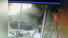 Çin'de kontrolden çıkan kamyon dehşet saçtı